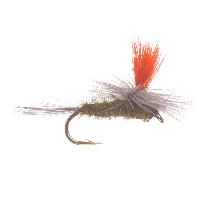 Parachute Blue Wing Olive Hi-Vis Dry Fly