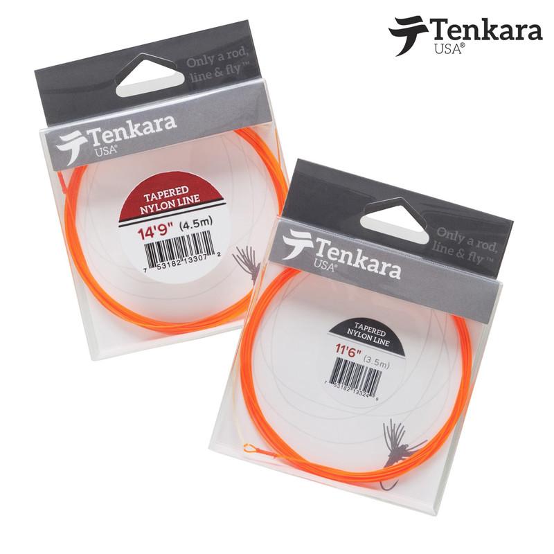 Packs of both sizes of Tenkara USA Nylon Tapered Fly Line