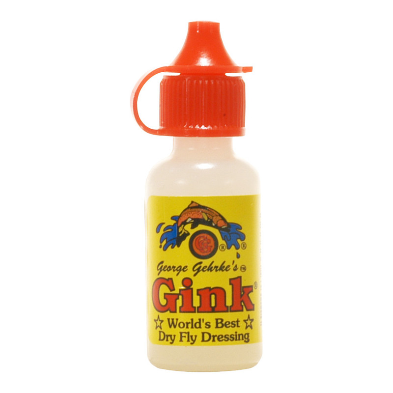 A Bottle of Gehreke's Gink Dry Fly Dressing