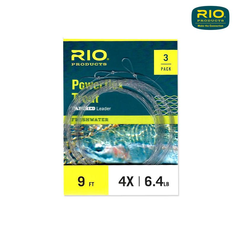 Rio Powerflex Trout Leaders 3-Pack