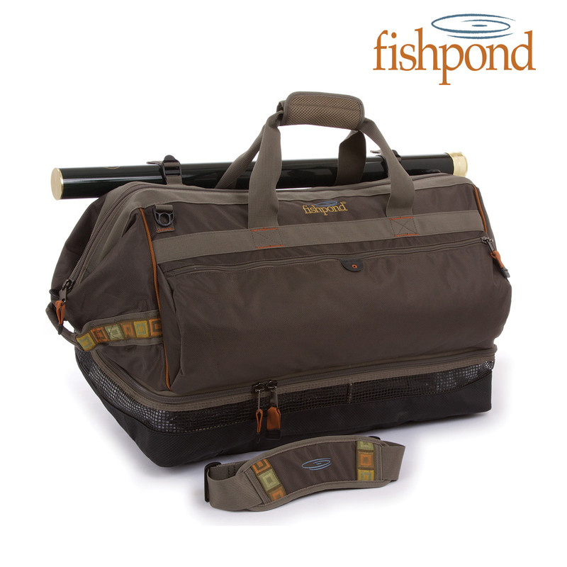 Fishpond Cimarron Wader Duffel Shown Closed
