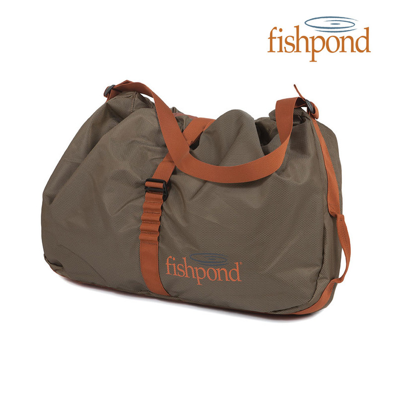 Fishpond Burrito Wader Bag Front View