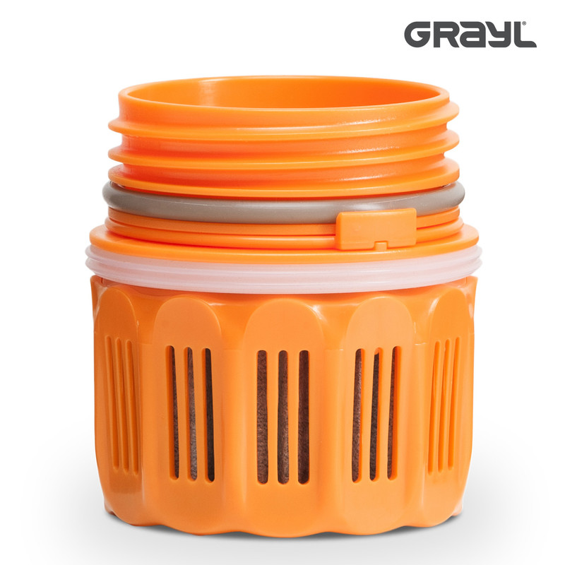 Grayl Ultralight Replacement Purifier Cartridge Side View