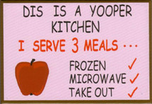Yooper Kitchen Magnet