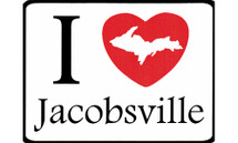 I Love Jacobsville Car Magnet