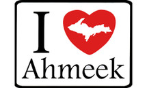 I Love Ahmeek Car Magnet