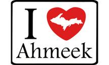 I Love Ahmeek Car Magnet