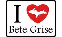I Love Bete Grise Car Magnet