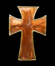 Copper Cross Wall Hanging - 2