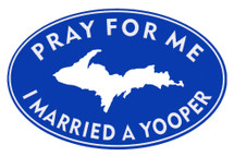 Pray For Me Sticker