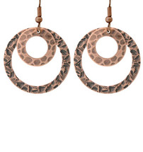 Copper Earrings - 177
