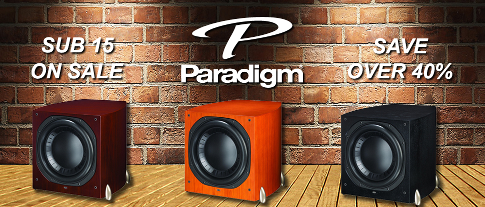 Paradigm Sub 15 On Sale