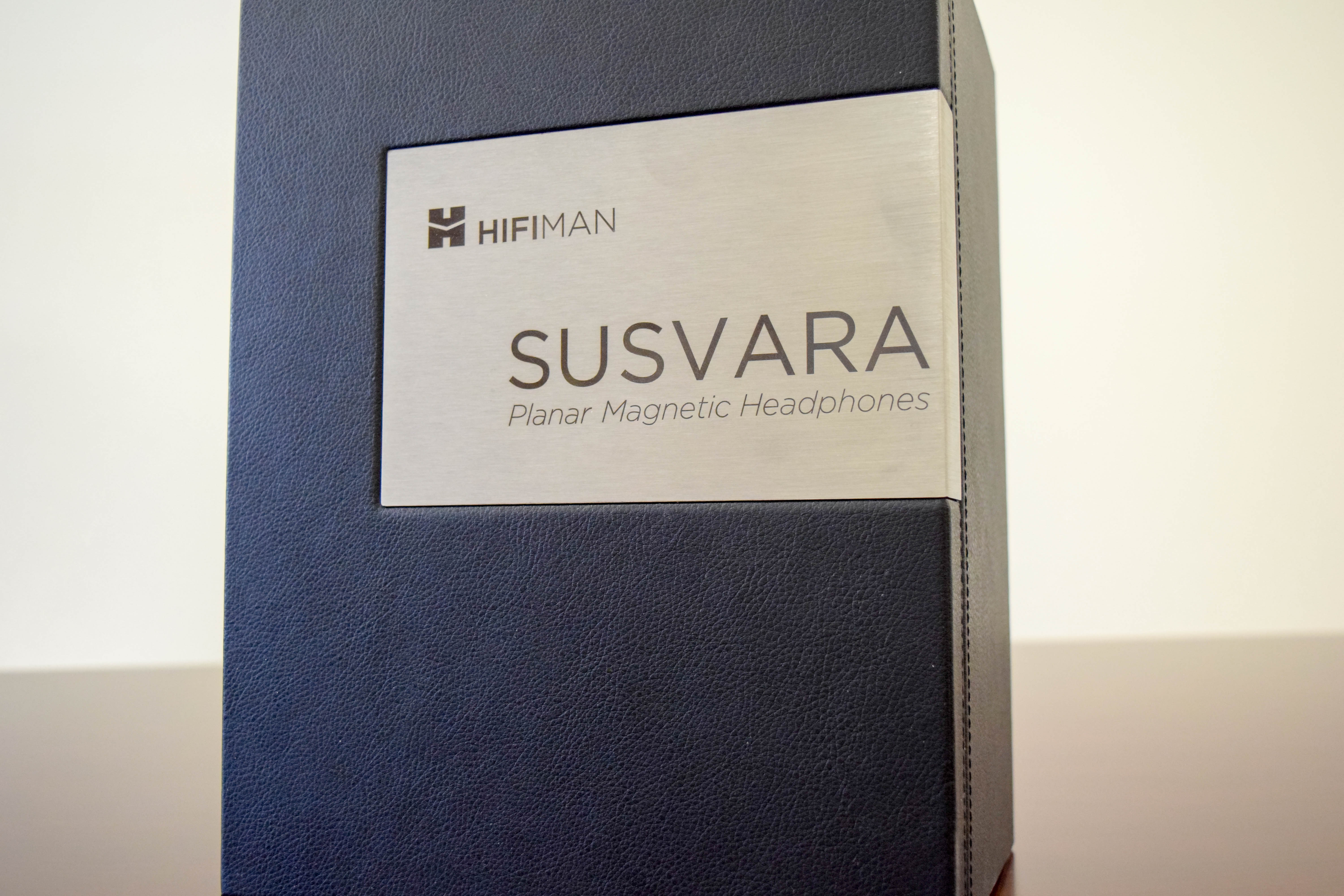HiFiMAN flagship Susvara headphones in case