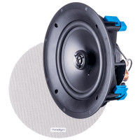Paradigm CS-80R v3 Round In Ceiling/Wall Bezel Free Speakers in Paintable White (Pair)
