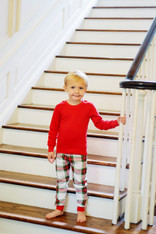Childrens- Christmas Plaid Pj Set