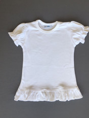 IMPERFECT Ruffle SS Tee