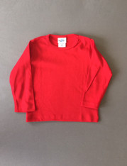 Plain Girly Tee- Red