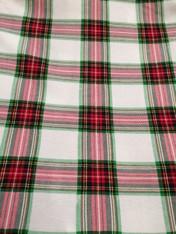 Christmas Fabric- Plaid 1/4 yard