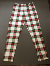 Adult-Christmas Plaid PANT ONLY