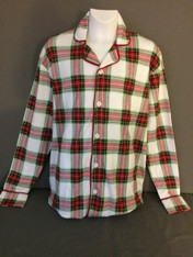 Adult-Christmas Plaid SHIRT ONLY