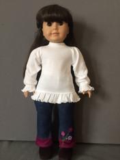 Doll Ruffle Long Sleeve