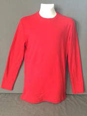 Adult Long Sleeve Red TEE ONLY
