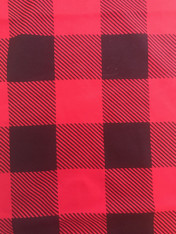 Christmas Fabric Buffalo Check 1/4 yard
