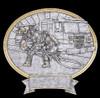 Firefighter Oval