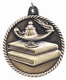 Lamp of Knowledge High Relief Medal