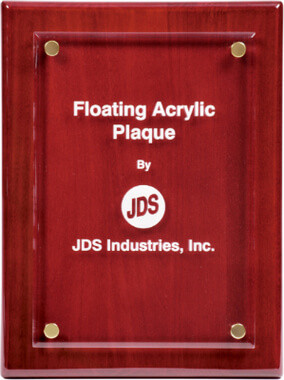 Floating Acrylic Plaque