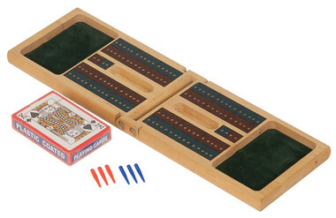 Cribbage Set W/ Cards and Pins