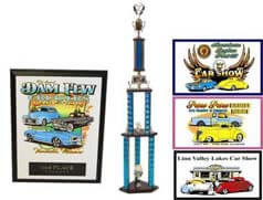 CAR SHOW PLAQUE BUNDLE 1