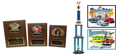 CAR SHOW PLAQUE BUNDLE 7