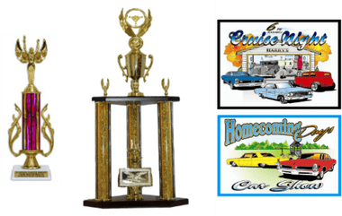 CAR SHOW TROPHY BUNDLE 1