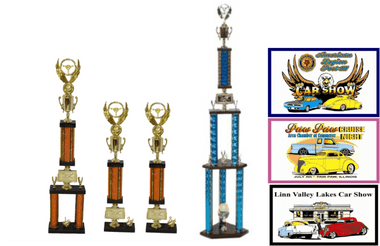 CAR SHOW TROPHY BUNDLE 4