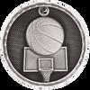 Basketball 3-D Medal