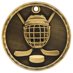 Hockey 3-D Medal