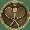 Tennis 3-D Medal