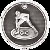 Wrestling 3-D Medal