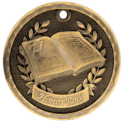 Honor Roll 3-D Medal