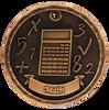 Math 3-D Medal