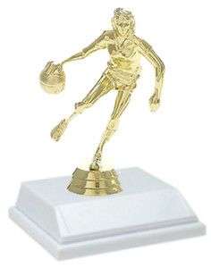 Basketball Female 6 Inch Trophy