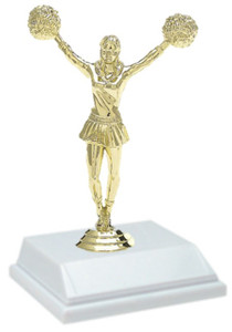 Cheerleading 6 Inch Trophy