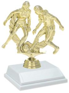 Soccer Female 6 Inch Trophy