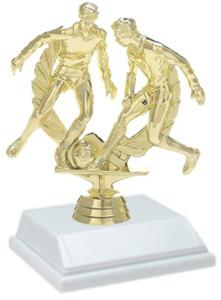 Soccer Male 6 Inch Trophy