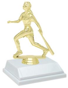 Softball 6 Inch Trophy