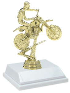 Motorcycle 6 Inch Trophy