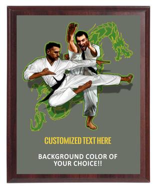 Martial Arts Plaque