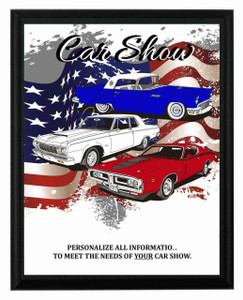 Freedom Car Show Plaque