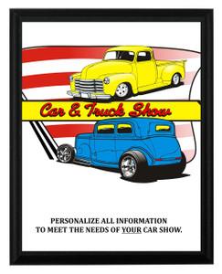 Car & Truck Show Plaque 2